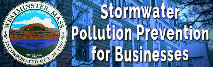 Stormwater Pollution Prevention for Westminster Businesses
