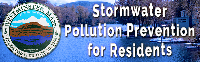 Westminster Lake - Stormwater Pollution Prevention for Residents