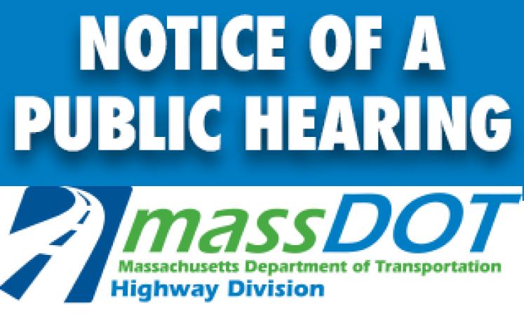 Notice of a Public Hearing: MassDOT