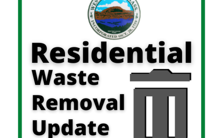 Residential Waste Removal Update